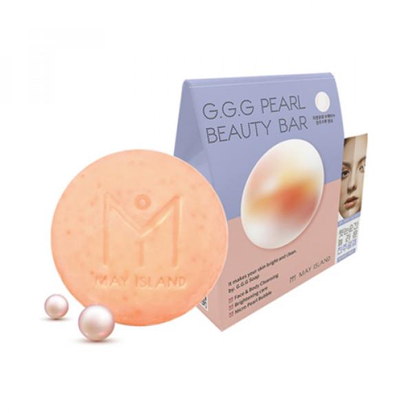 [MAY ISLAND] G.G.G Pearl Beauty Bar - 100g