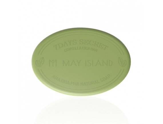 [MAY ISLAND] 7 Days Secret Centella Cica Pore Cleansing Bar - 100g