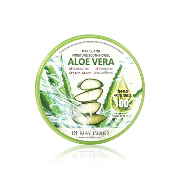 [MAY ISLAND] Aloe Vera Pure 100% Soothing Gel - 300ml