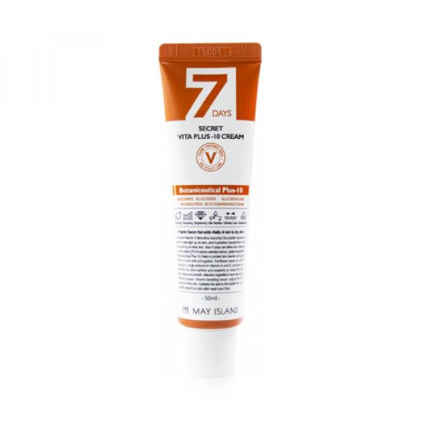 [MAY ISLAND] 7 Days Secret Vita Plus 10 Cream - 50ml