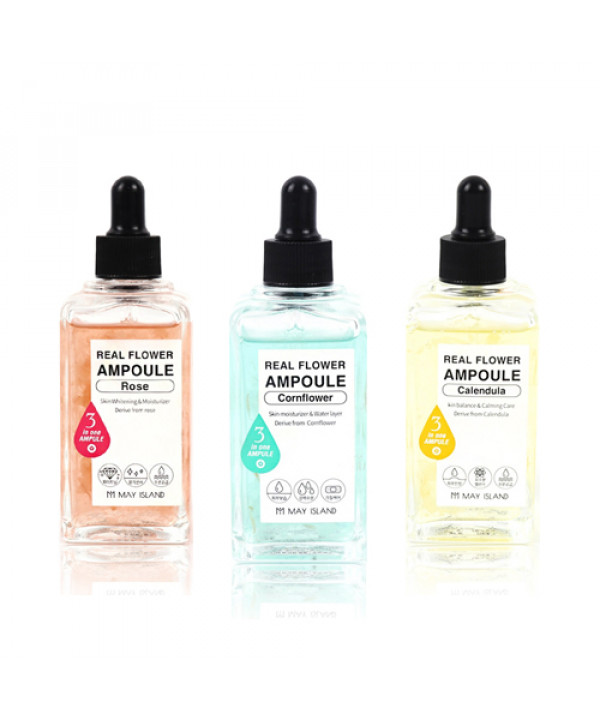 [MAY ISLAND] Real Flower Ampoule - 100ml