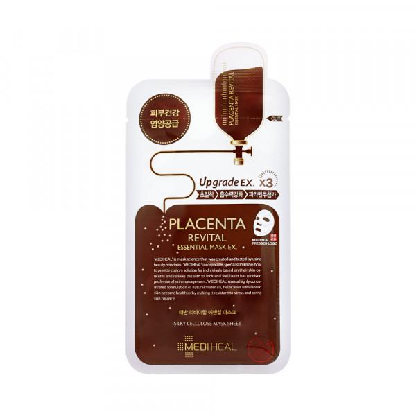 [MEDIHEAL] Placenta Revital Essential Mask EX - 1pack (10pcs)