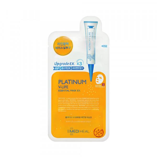 [MEDIHEAL] Platinum V Life Essential Mask EX - 1pack (10pcs)