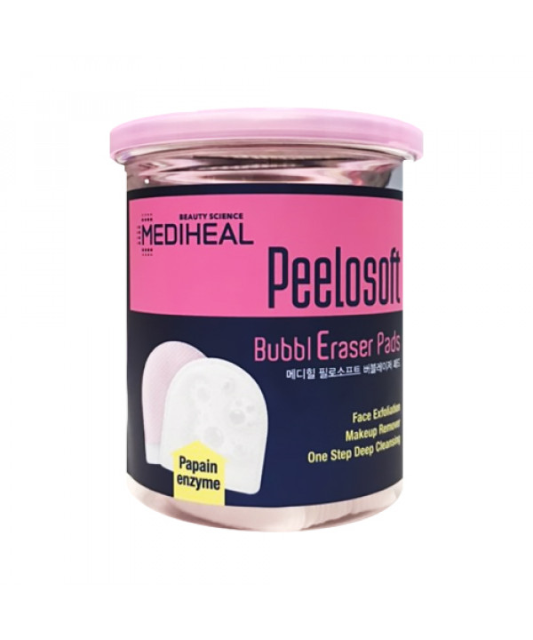 [MEDIHEAL] Peelosoft Bubbleraser Pads - 1pack (20pcs)