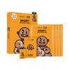 [MEDIHEAL] BT21 Face Point Mask - 1pack (4pcs+Postcard+Bookmark)