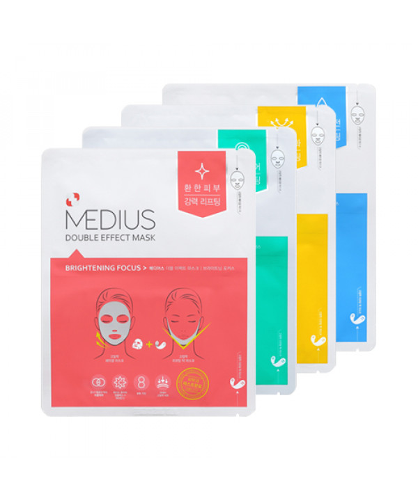 [MEDIUS_LIMITED] Double Effect Mask - 1pack (5pcs) (EXP 2021.01.07)