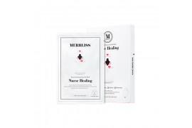[MERBLISS] Nurse Healing Intense Soothing Gauze Seal Mask - 1pack (5pcs)