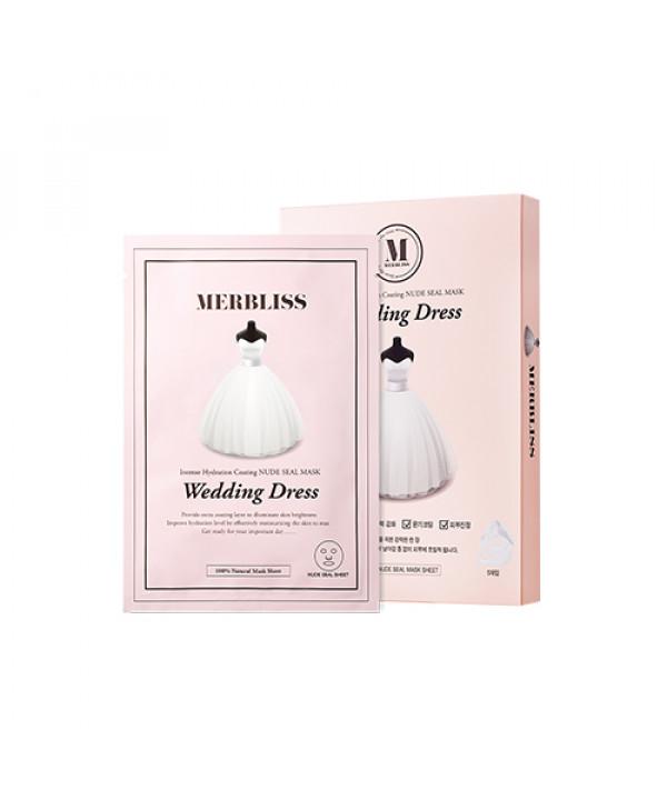 W-[MERBLISS] Wedding Dress Mask - 1pack (5pcs) No.Intense Hydration Coating x 10ea
