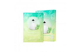[MERBLISS] Wedding Dress Mask - 1pack (5pcs) No.Aloe Honey Soothing