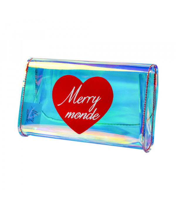 [Merry monde] Love Crush Hologram Pouch - 1pcs