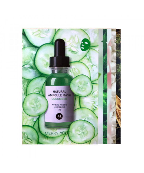 [MERRYYOUTH] Natural Ampoule Mask - 1pcs