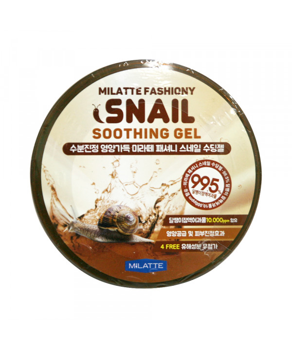[MILATTE] Fashiony Snail Soothing Gel - 300ml