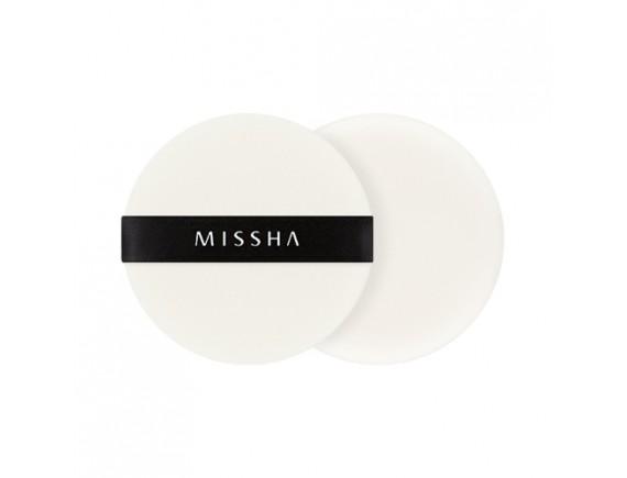 [MISSHA] Compressed Flocking Puff - 1pack (2pcs)