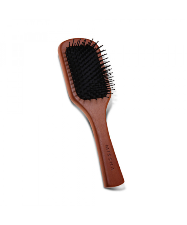 [MISSHA] Wooden Cushion Hair Brush (M) - 1pcs