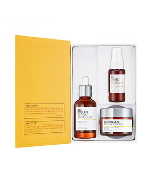 [MISSHA] Bee Pollen Renew Special Set - 1pack (3items)