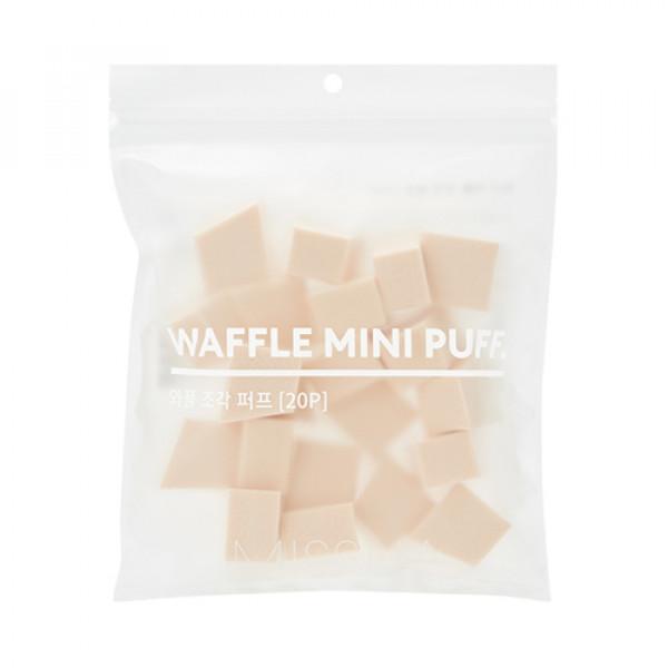 W-[MISSHA] Waffle Mini Puff - 1pack (20pcs) x 10ea