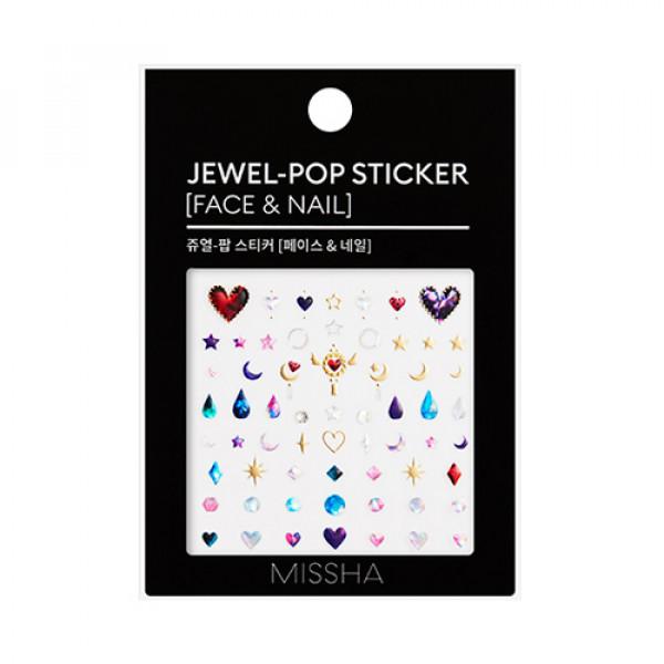 W-[MISSHA] Jewel Pop Sticker (Face & Nail) - 1pcs x 10ea