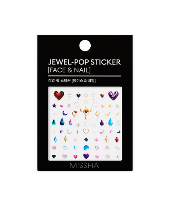 [MISSHA] Jewel Pop Sticker (Face & Nail) - 1pcs