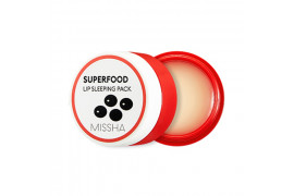 [MISSHA] Superfood Blackbean Lip Sleeping Pack - 7g