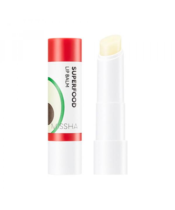 [MISSHA] Superfood Avocado Lip Balm - 3.2g