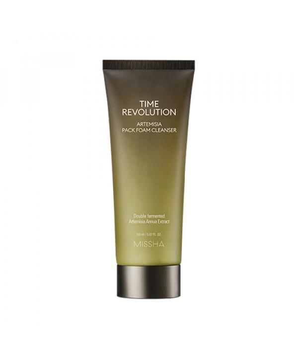 [MISSHA] Time Revolution Artemisia Pack Foam Cleanser - 150ml