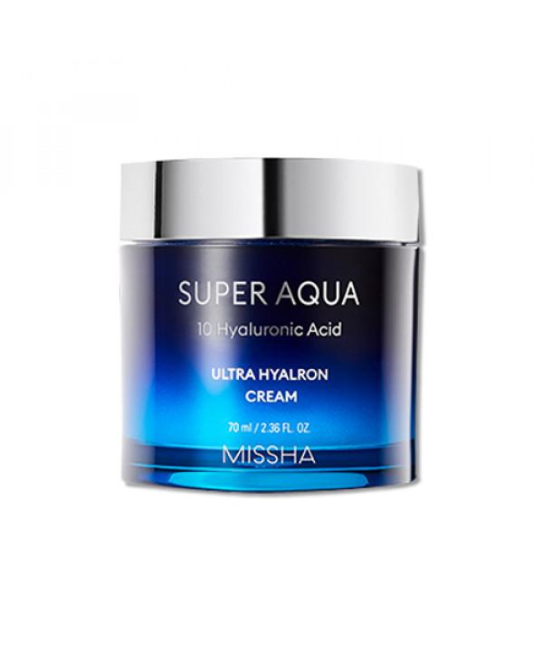 [MISSHA] Super Aqua 10 Hyaluronic Acid Ultra Hyalron Cream - 70ml