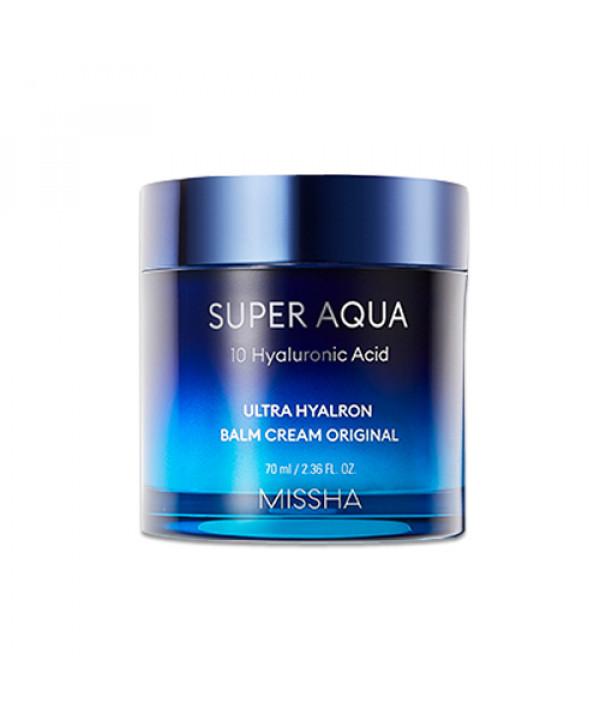 [MISSHA_45% SALE] Super Aqua 10 Hyaluronic Acid Ultra Hyalron Balm Cream Original - 70ml
