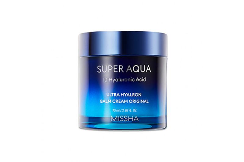 W-[MISSHA] Supre Aqua 10 Hyaluronic Acid Ultra Hyalron Balm Cream Original - 70ml x 10ea