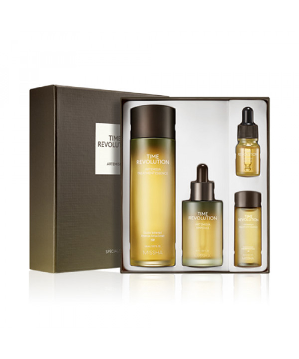 [MISSHA] Time Revolution Artemisia Special Set - 1pack (4items)
