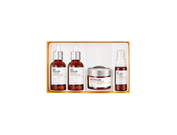 [MISSHA] Bee Pollen Renew Ampouler Special Set - 1pack (4items)