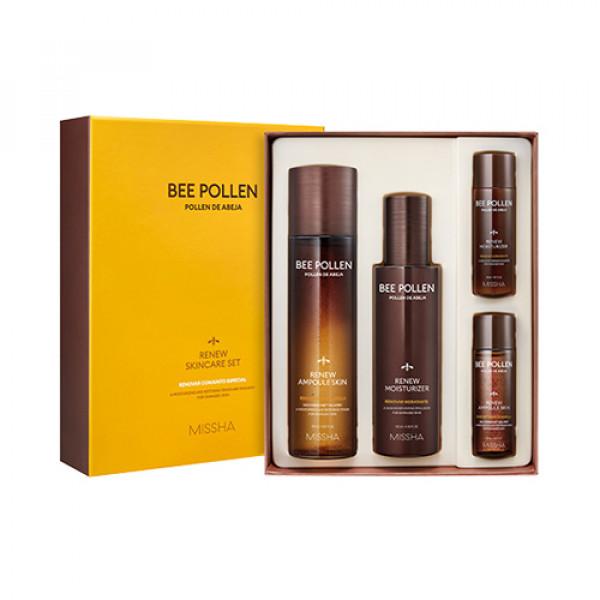 [MISSHA] Bee Pollen Renew Skincare Set - 1pack (4items)
