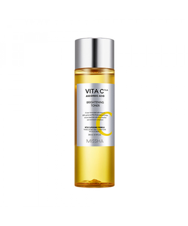 [MISSHA] Vita C Plus Brightening Toner - 200ml