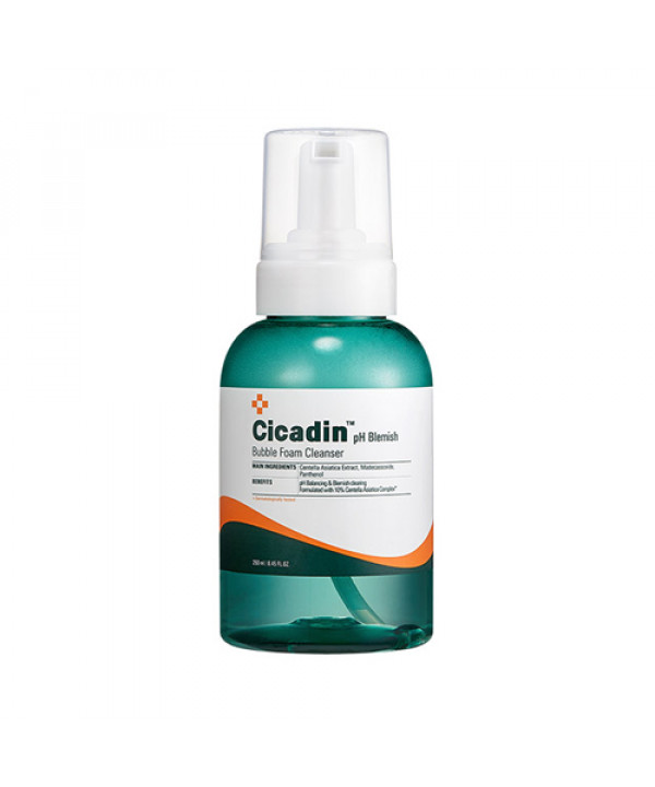 [MISSHA] Cicadin pH Blemish Bubble Foam Cleanser - 250ml