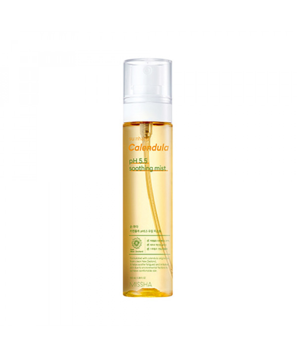 [MISSHA] Sunhada Calendula pH 5.5 Soothing Mist - 100ml