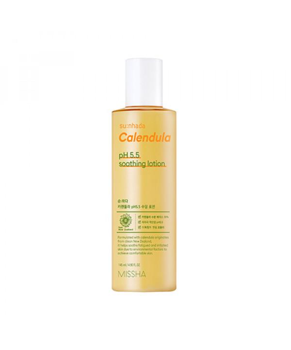 [MISSHA] Sunhada Calendula pH 5.5 Soothing Lotion - 145ml