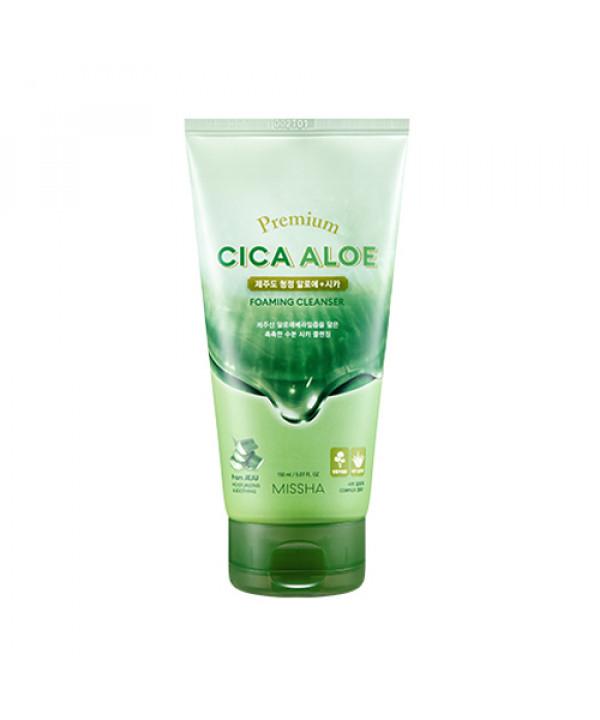 [MISSHA] Premium Cica Aloe Foaming Cleanser - 150ml