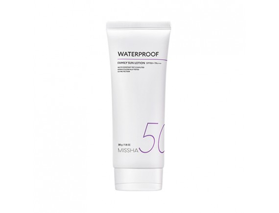 [MISSHA] All Around Safe Block Waterpoof Family Sun Lotion - 200g