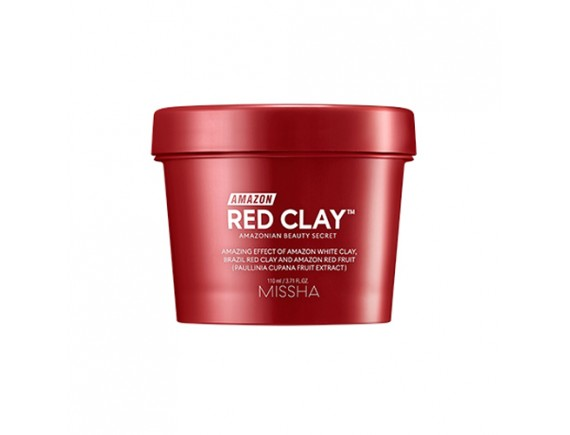 [MISSHA] Amazon Red Clay Pore Mask - 110ml