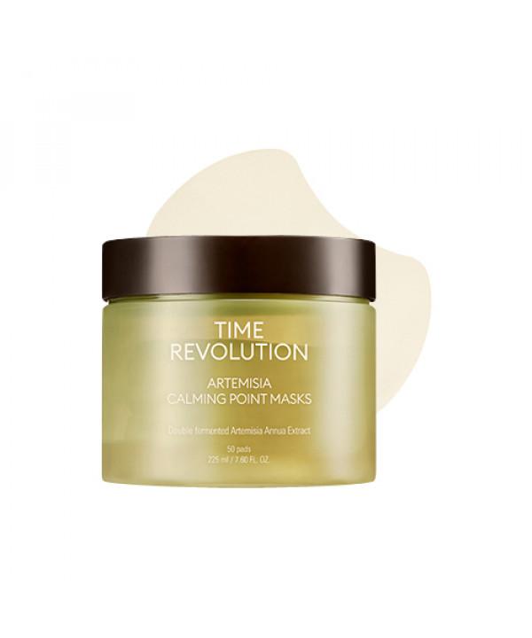 [MISSHA] Time Revolution Artemisia Calming Point Masks - 1pack (50pcs)