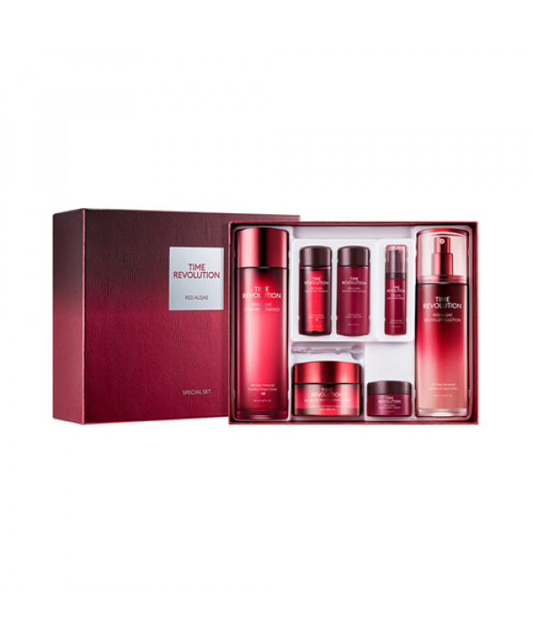 W-[MISSHA] Time Revolution Red Algae 3 Step Special Set - 1pack (7items) x 10ea