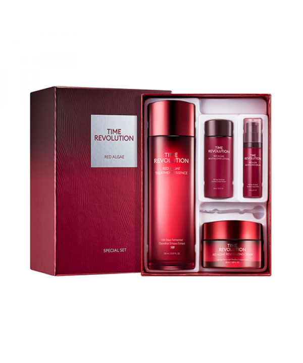 W-[MISSHA] Time Revolution Red Algae 2 Step Special Set - 1pack (4items) x 10ea