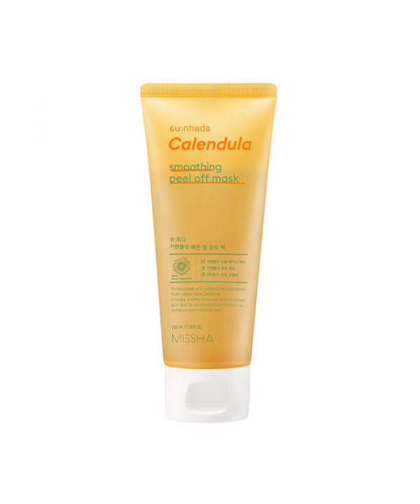 [MISSHA] Sunhada Calendula Smoothing Peel Off Mask - 100ml