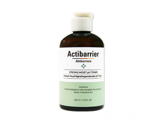 [MISSHA] Actibarrier Strong Moist pH Toner (2020) - 220ml