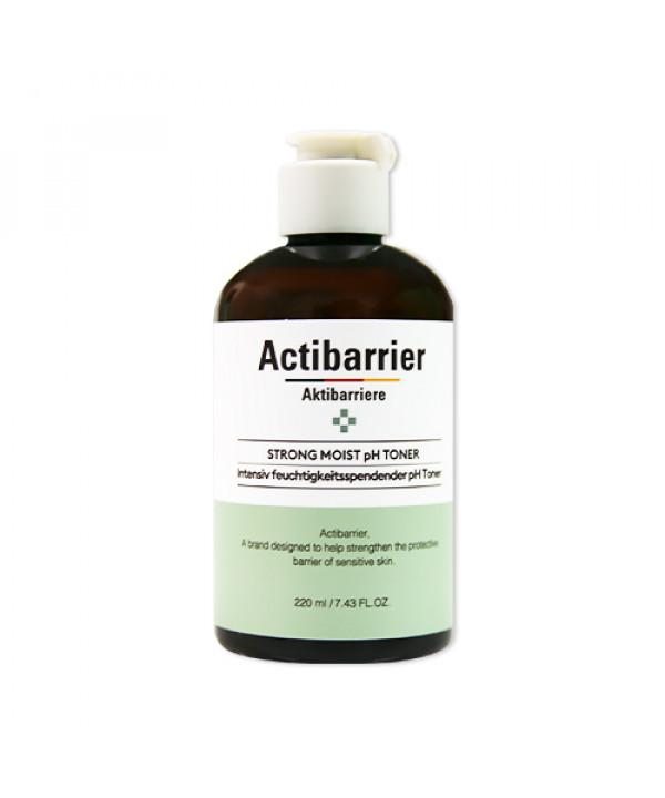 W-[MISSHA] Actibarrier Strong Moist pH Toner (2020) - 220ml x 10ea