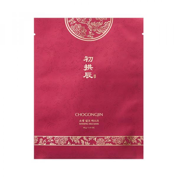 [MISSHA] Chogongjin Sosaeng Silk Mask - 3pcs