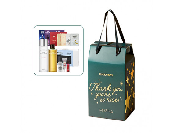 [MISSHA] Holiday Thank You Box (Lucky Box) - 1pack (13items)