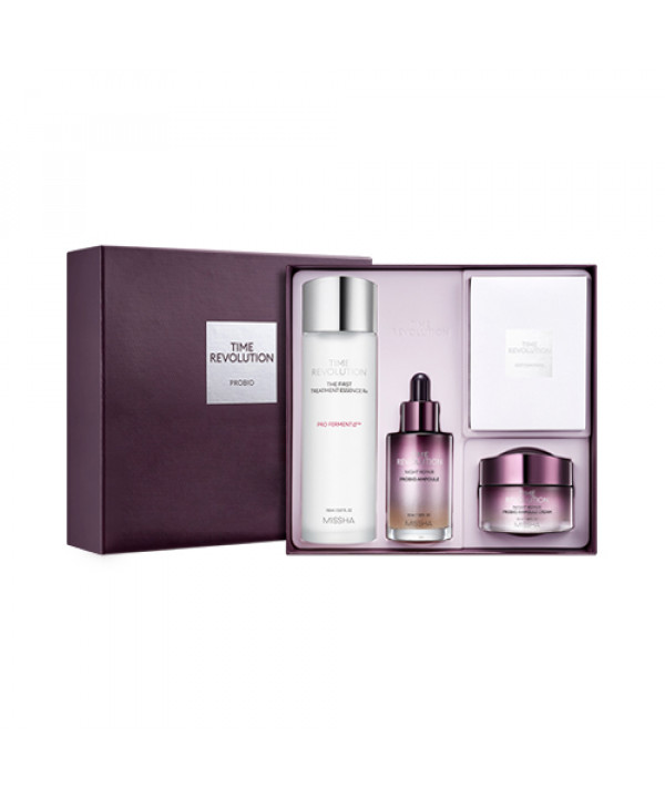 [MISSHA] Time Revolution Probio Special Set (2021) - 1pack (4items)