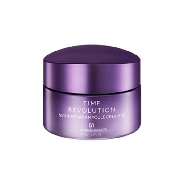 [MISSHA] Time Revolution Night Repair Ampoule Cream 5X - 50ml