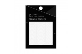 [MISSHA] Self Nail Salon French Sticker - 1pcs