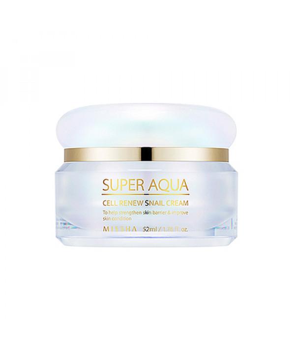 [MISSHA] Super Aqua Cell Renew Snail Cream - 52ml